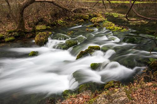 water landscape missouri spring cascade alleyspring eminence unitedstates us