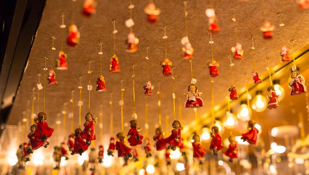 Christmas In Stuttgart Germany.Angel Figurines Christmas Market Stuttgart Germany Flickr