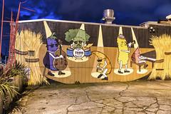 Jackon Street Wall Mural