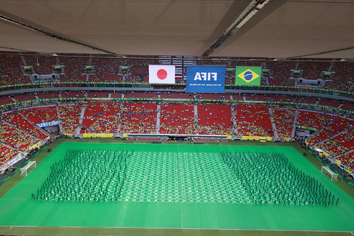 Série com a Abertura da Copa das Confederações - Brasil 2013 - Jogo Brasil 3x0 Japão -  15-06-2013 - IMG_3669