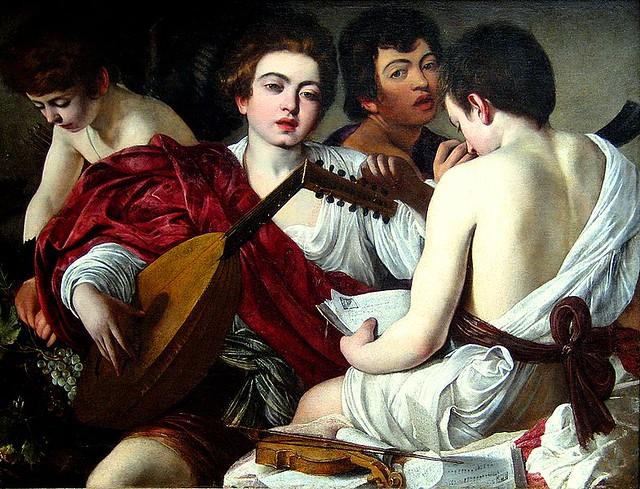 785px-Caravaggio_-_I_Musici