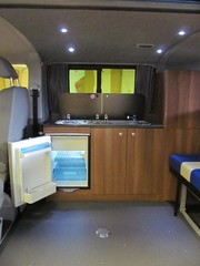 VW T5 Camper with Walnut Furniture