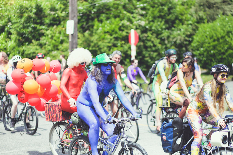fremont solstice painted bikers