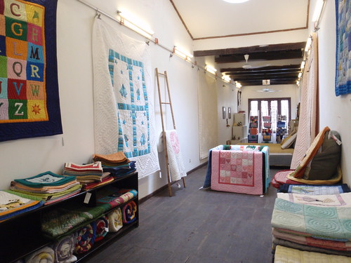 Mekong Quilts shop display