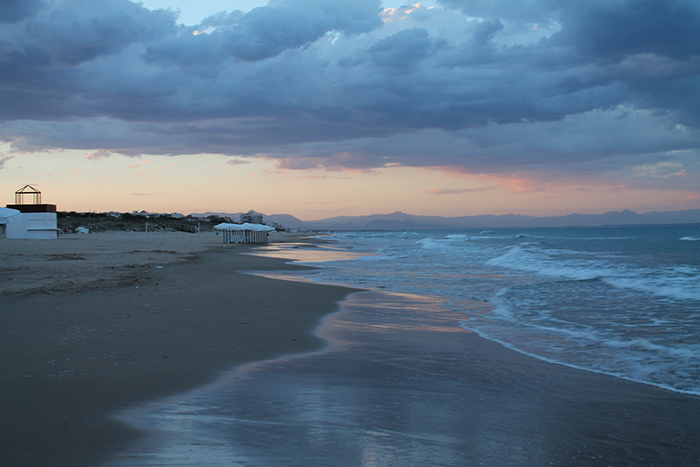 Atardecer en la playa 3