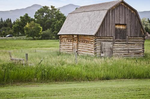 Tinsley living farm barn - Museum of the Rockies - 2013-07-08