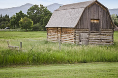 Tinsley living farm barn - Museum of the Rockies - 2013-07-08