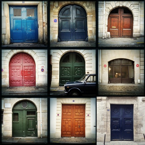 doors of ile saint louis