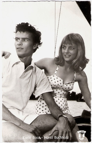 Horst Buchholz, Karin Baal