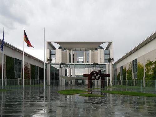 Bundeskanzleramt Berlin, Ehrenhof