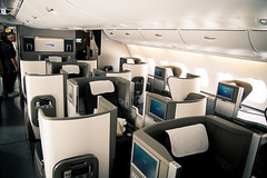 Airbus A380 Club world Upper Deck