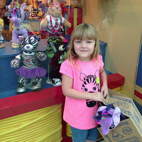 215:365 Twilight Sparkle has joined our Build A Bear family. #mylittlepony #buildabear