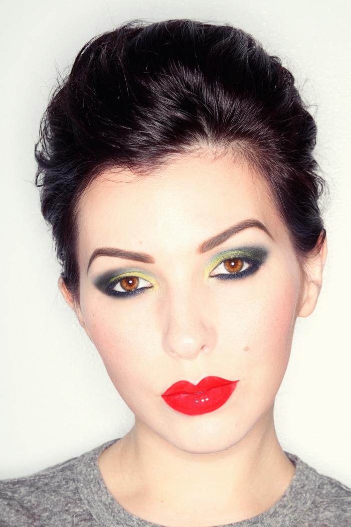 Makeup Monday Glam Rock - Keiko Lynn