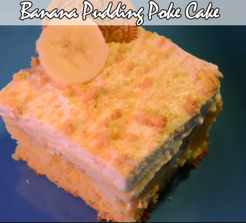 Banana Pudding poket cke