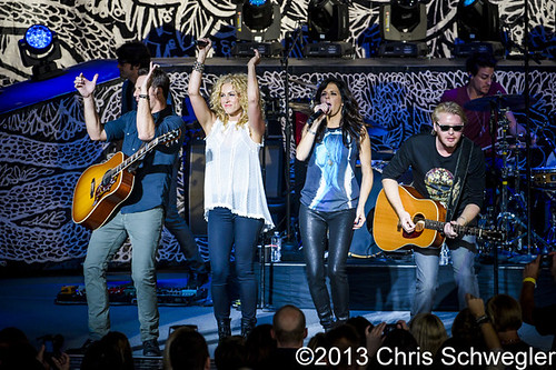 Little Big Town - 08-04-13 - Light the Fuse Tour 2013, DTE Energy Music Theatre, Clarkston, MI