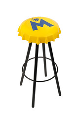 outdoor furniture(0.0), table(0.0), chair(0.0), outdoor table(1.0), stool(1.0), furniture(1.0), yellow(1.0),
