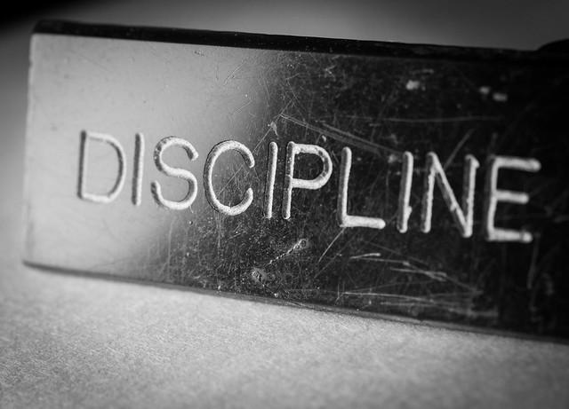 Discipline Never Wears Off