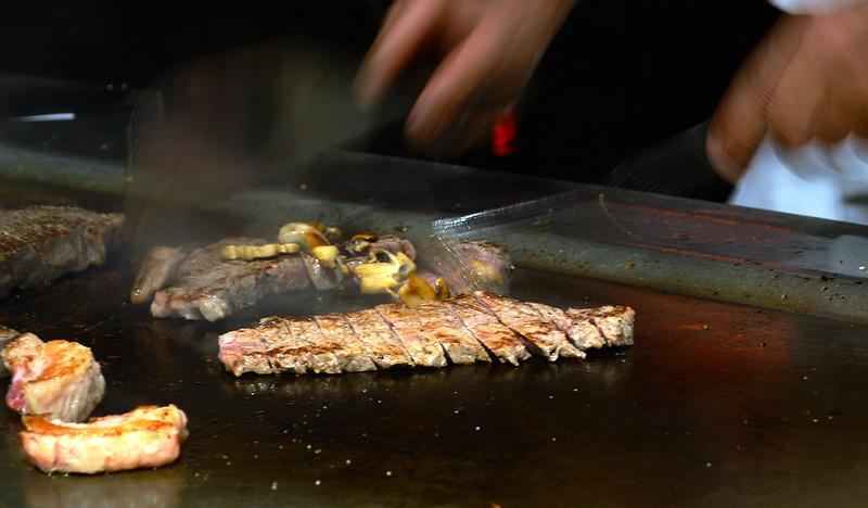 Preparing Our Steaks