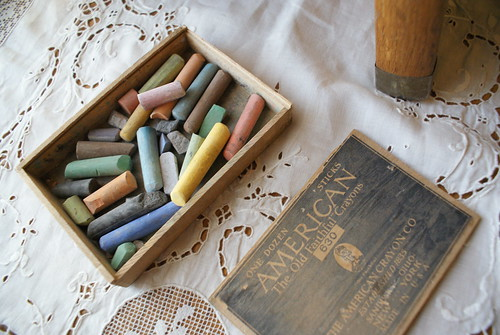 Rosson House Chalk by Digital Heather