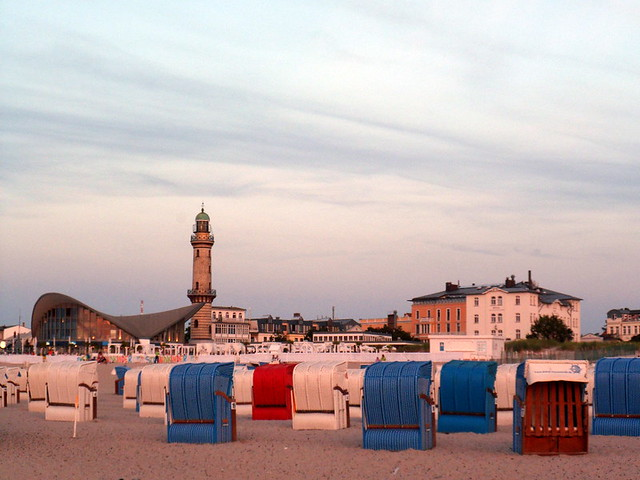 Abends am Strand 1