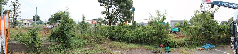 阿佐ヶ谷住宅解体中