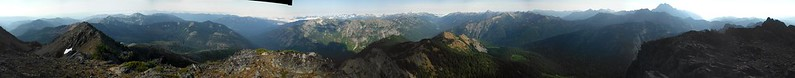 Hawkins Mountain Summit Pano