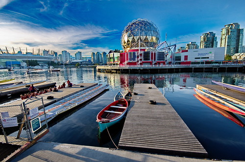 Vancouver Dragonboaters base view @ Science World