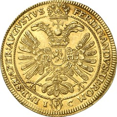 06141r00 Holy Roman Empire. County of Schlick. Henry IV, 1612-1650. 10 ducats