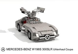 Mercedes-Benz W196S 300 SLR Uhlenhaut Coupe