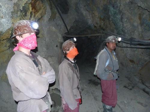 En las minas de Potosí (Bolivia)