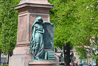 Image of Johan Ludvig Runeberg. finland helsinki tauck harveybarrison hbarrison