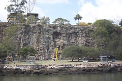 Climbers on Kangaroo Point