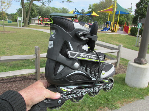 "One of my ""New"" roller blade inline skates I purchased i August of 2013. by Eddie from Chicago"