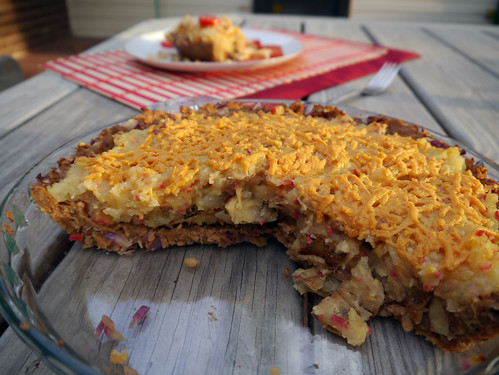 V is for Vegan Bacon Cheeseburger Potato Pie [Betty Goes Vegan] (0008)