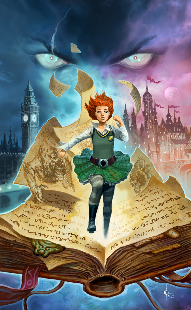 lukas thelin, moonlands, cover, young adult, fantasy art
