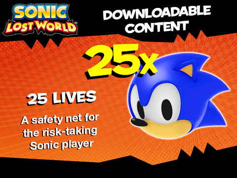 Sonic Lost World Amazon Pre-Order DLC