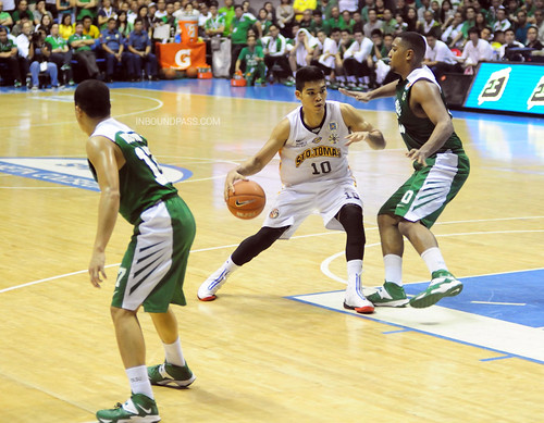 UAAP Season 76 Finals Game 2: DLSU Green Archers vs. UST Growling Tigers, Oct. 5