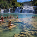 Swimmers at Krka by Rob Kroenert
