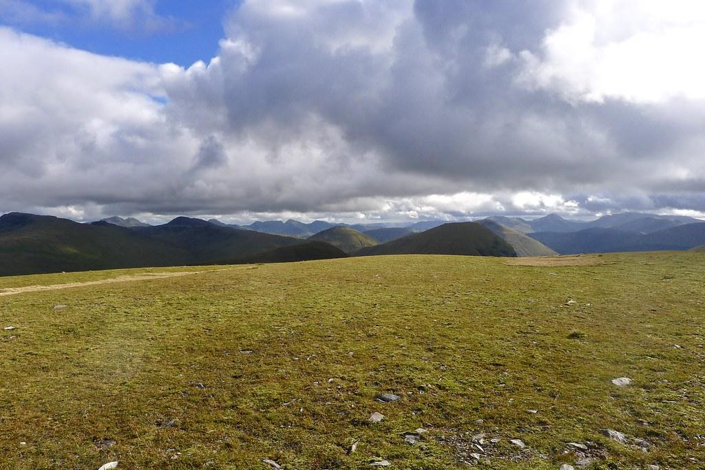 Tyndrum Hills from Beinn a'Chuirn
