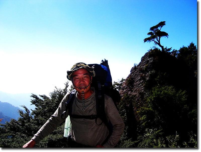 赴排雲山莊途中 4
