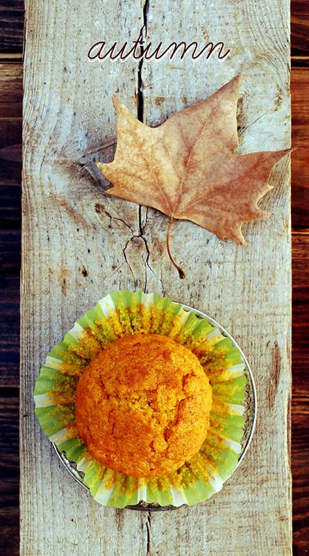 muffins de calabaza y almendra otoño text web