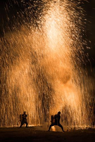 手筒花火 Tezutsu Fireworks