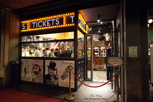 Tickets' entrance