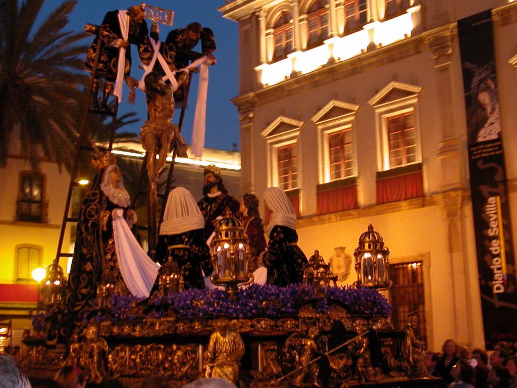 Misterio de la Quinta Angustia, Sevilla