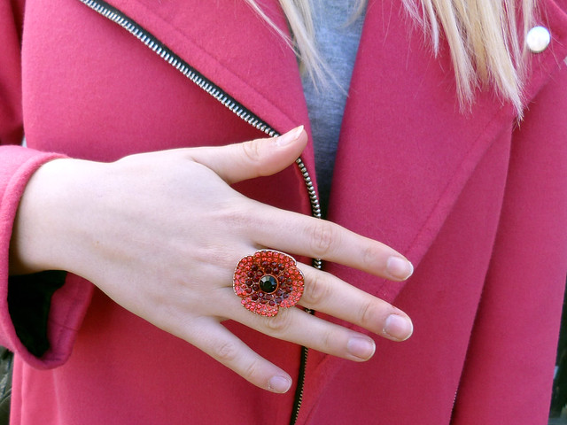 The pink coat | outfit post