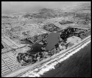Lake Merced and San Bruno Mountain 1959