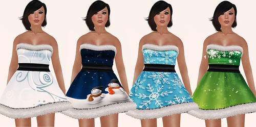 Frozen Hunt nMn Dresses