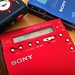 Sony MZ R900 (Red) Portable Minidisc Player by twinmushrooms