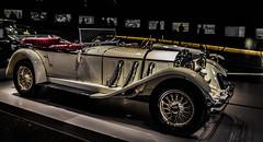 automobile, wheel, vehicle, automotive design, mercedes-benz 500k, antique car, vintage car, land vehicle, luxury vehicle, convertible,