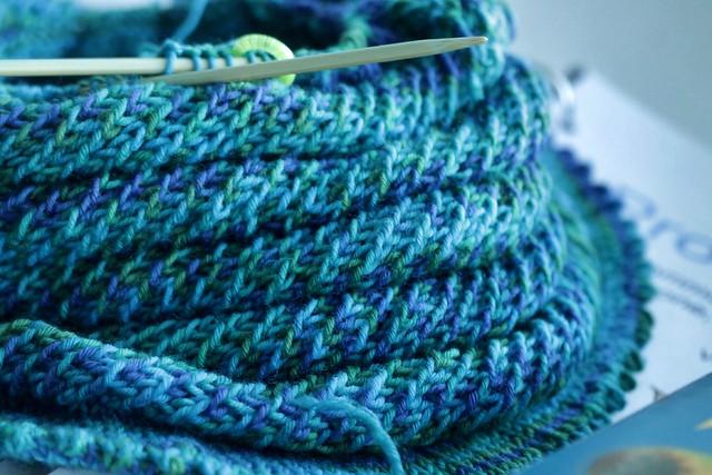 Yarn Along 11/6/2013